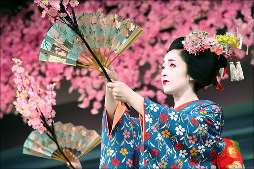 Festivalul japonez al florilor