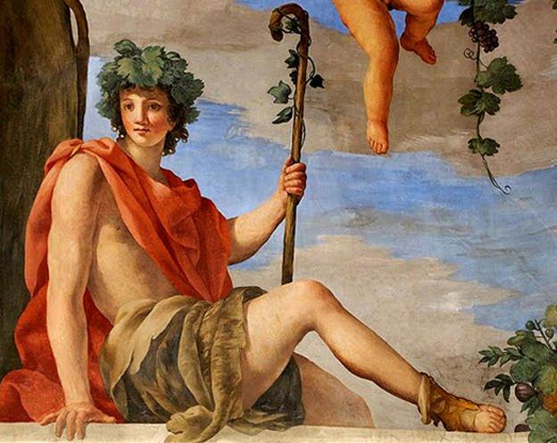 Dionysos - Bacchus zeul vinului