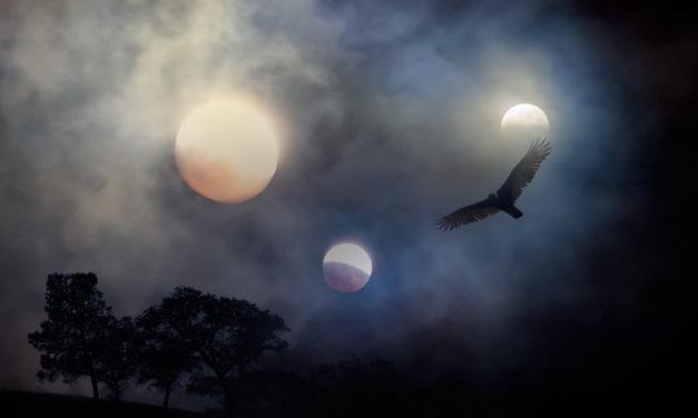 Eclipsa de Luna in mitologie
