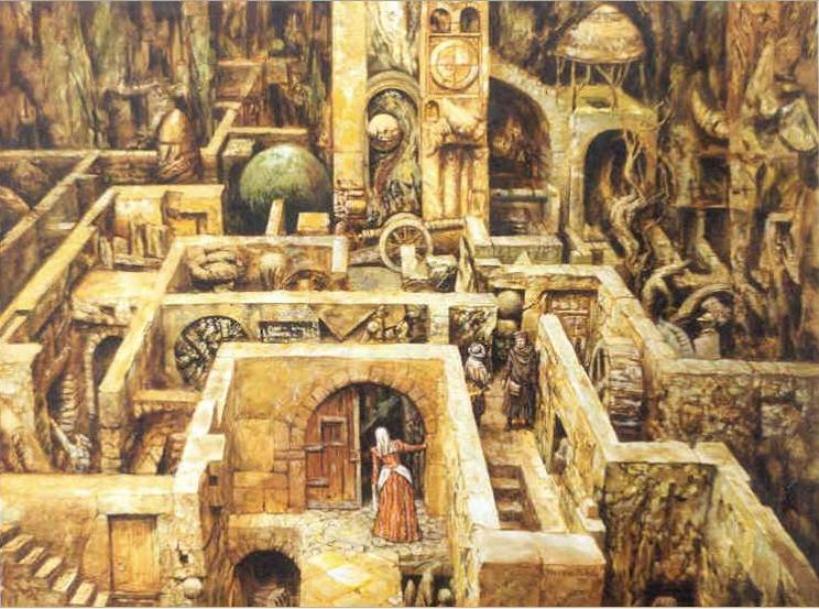 Tezeu si Minotaurul in Labiritntul lui Dedal. Palatul din Cnossos si firul Ariadnei.