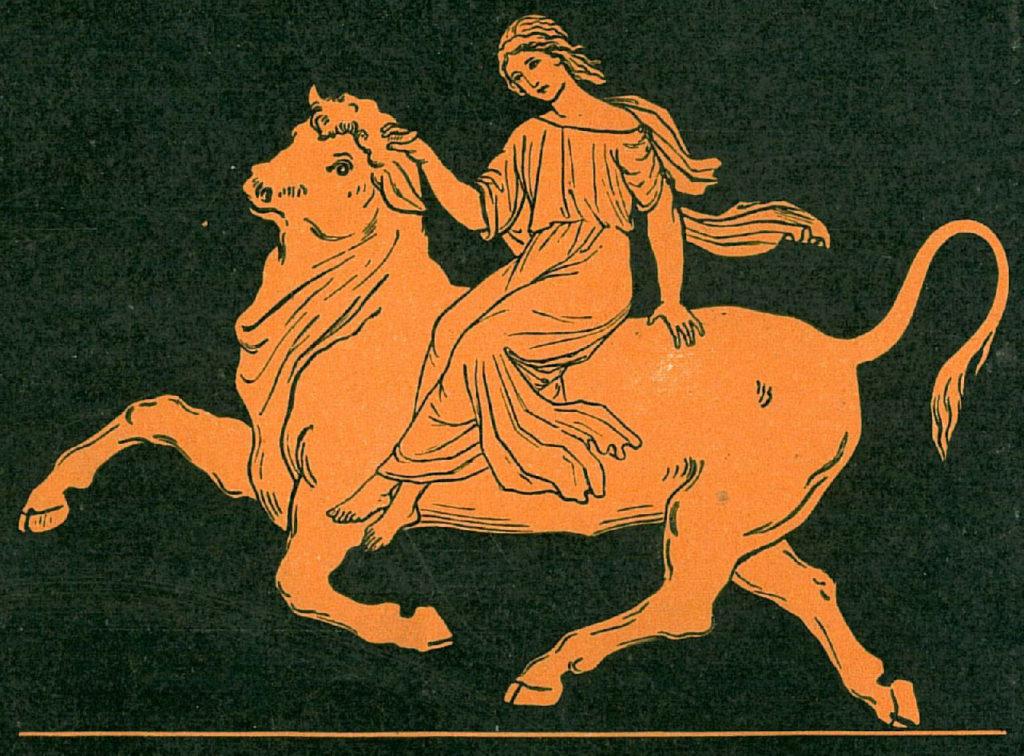 Minotaurul labirintului si taurul ceresc