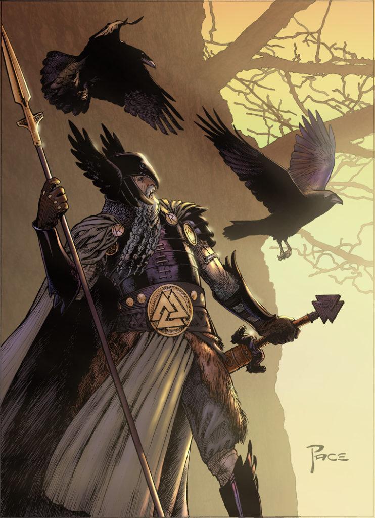 Odin, zeul vikingilor