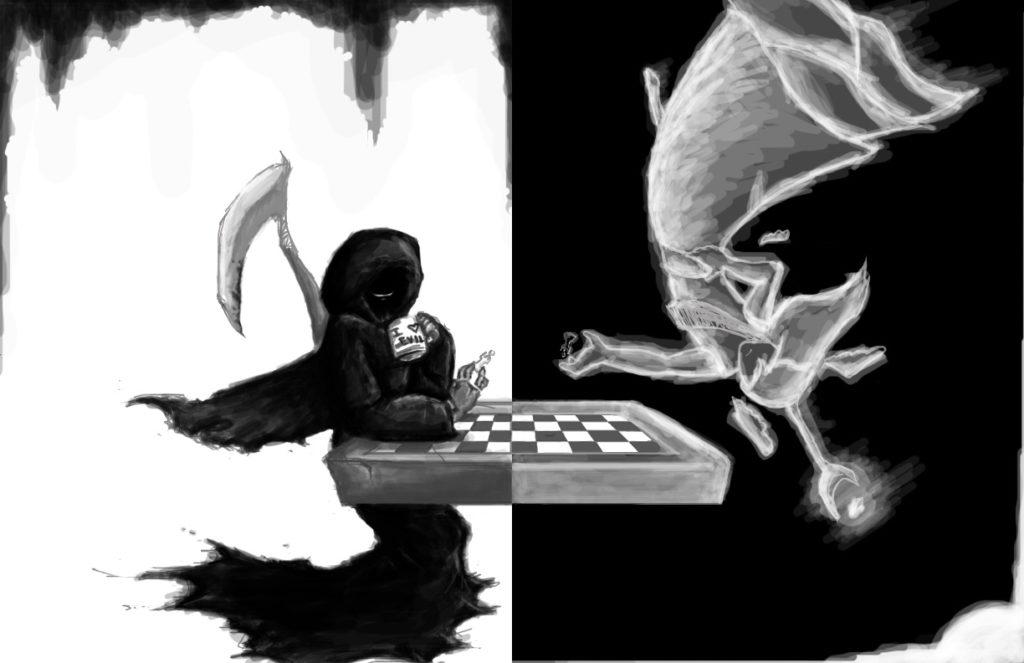 good vs evil in macbeth essays