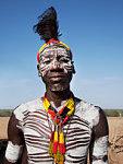 Africa. Ethiopia. Omo Valley. Village of Kolcho. Karo people.