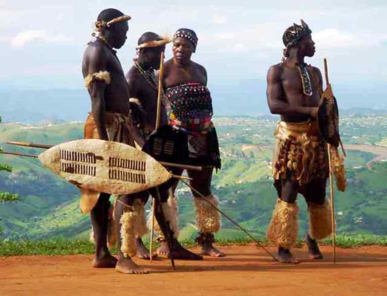 Africa neagra in imagini