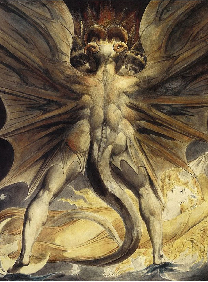 Dragonul rosu - William Blake