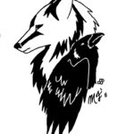 wolf_and_raven_by_mistress_moon_wolf-d3cd26r