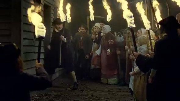 Vanatoarea vrajitoarelor din Salem