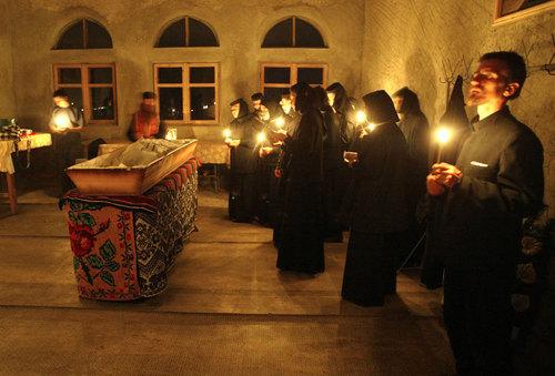 Exorcizare in biserica ortodoxa