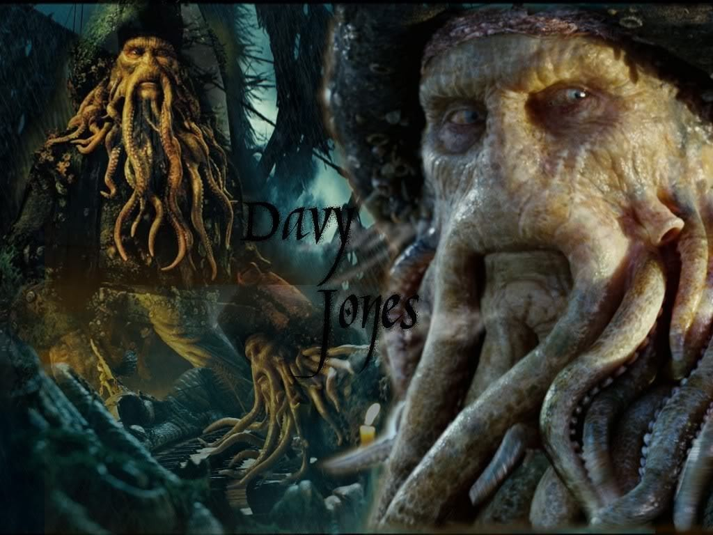 Davy Jones - folclor si mit