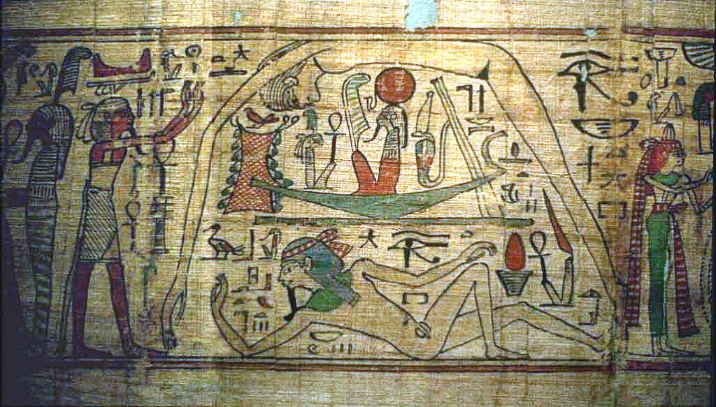mitul creatiei la egipteni