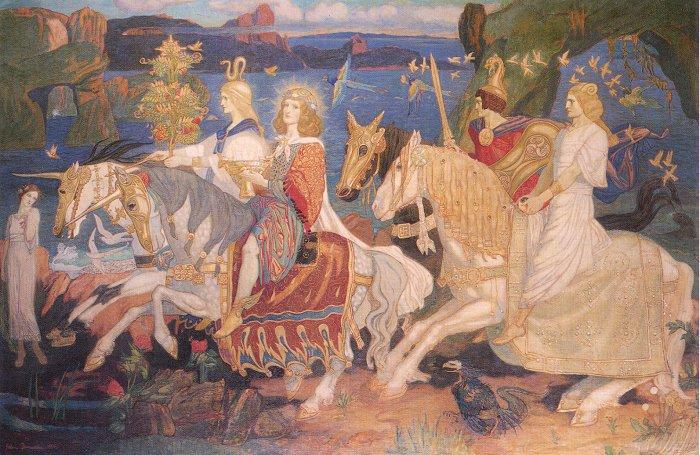 mitologia irlandeza si scotiana