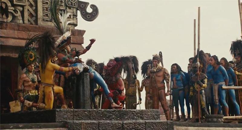 Ceremonii si sacrificii umane la mayasi