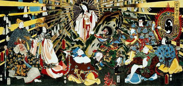 Mitologie japoneza