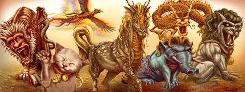 creaturi mitologice japoneze
