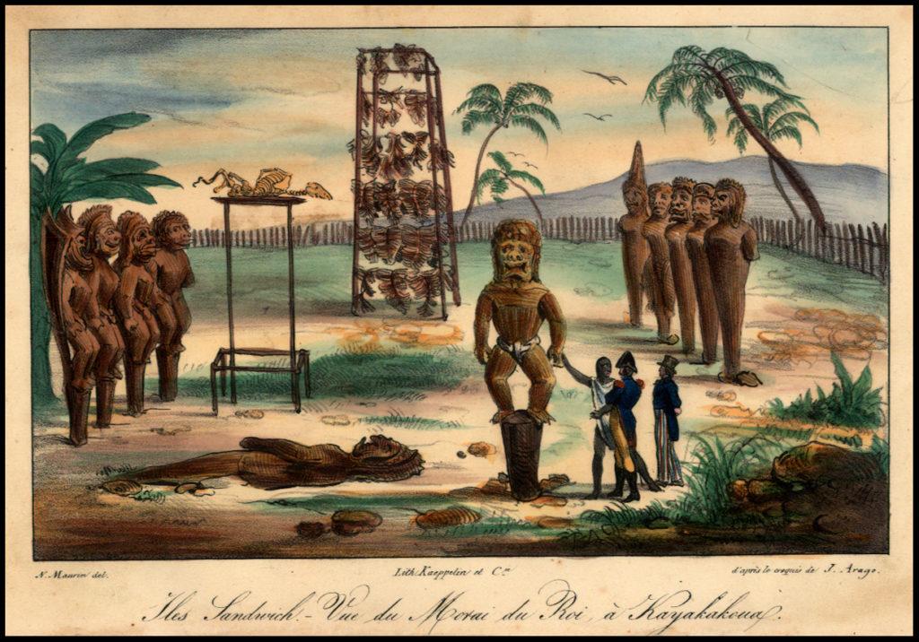 Religia in Hawaii  - kapu si mana