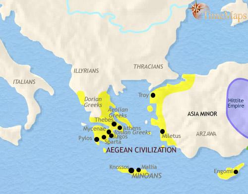 Civilizatia Minoica - Atlantida lui Platon