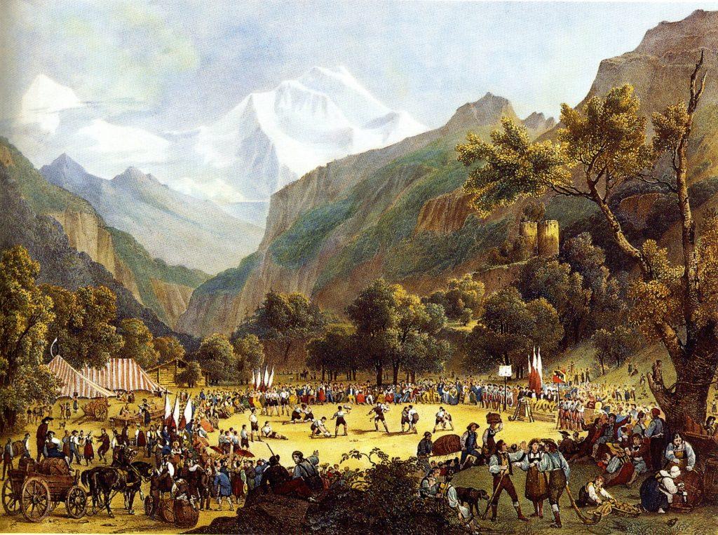 Mitologie in Alpii Elvetiei: gnomi, dragoni si vrajitoare