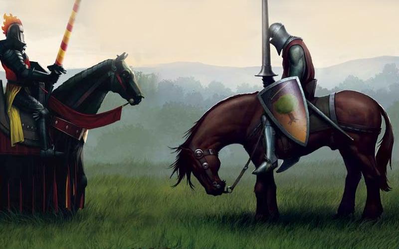 """George Martin - """"Cavalerul celor Sapte Regate"""""""