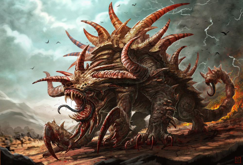 Tarrasque monster