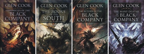"Glen Cook - ""The Black Company"" - ""Compania Neagra"""