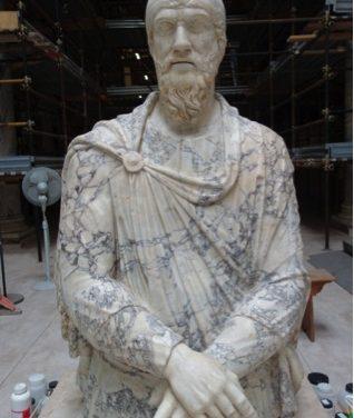 Printul dac restaurat in muzeul Vatican