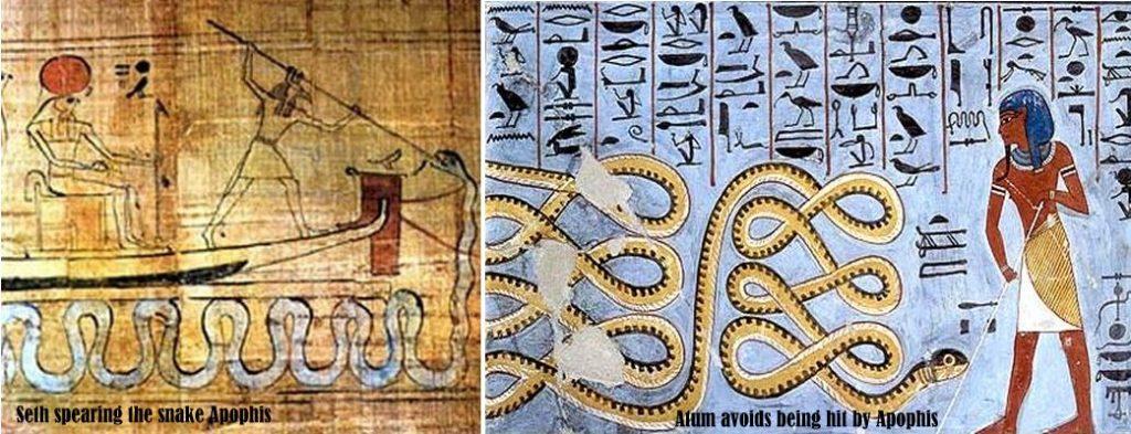 Apophis, sarpele malefic, simbolul haosului la egipteni