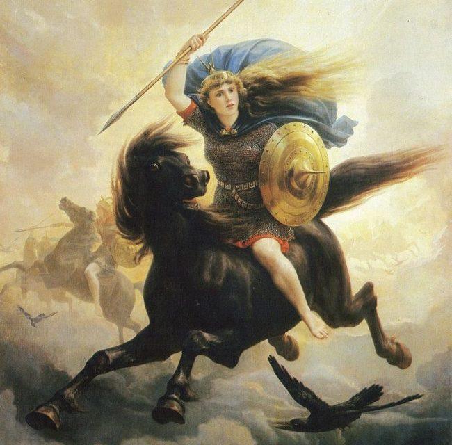 Walkiriile, fecioarele-razboinice si vikingii