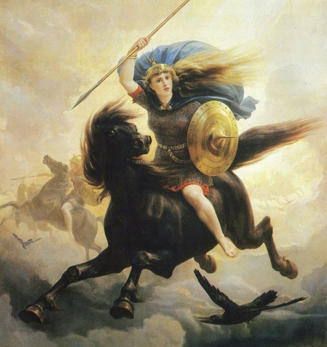 Valkiriile, fecioarele-razboinice si vikingii