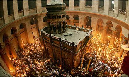 Mormantul lui Iisus din Ierusalim a fost deschis