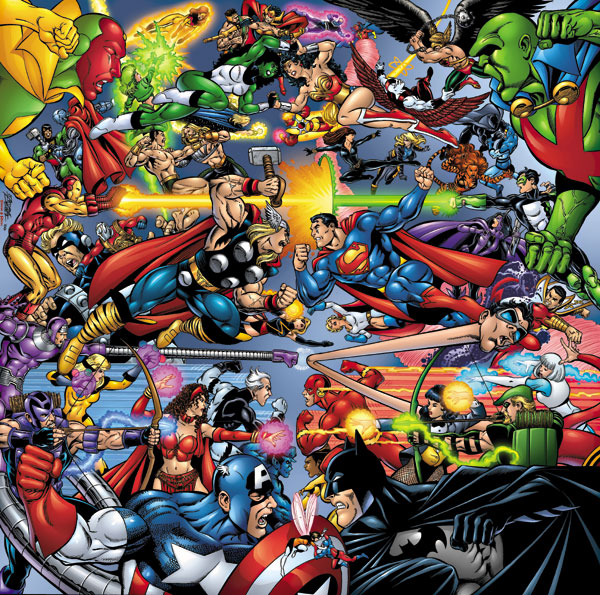 Marvel DC Comics