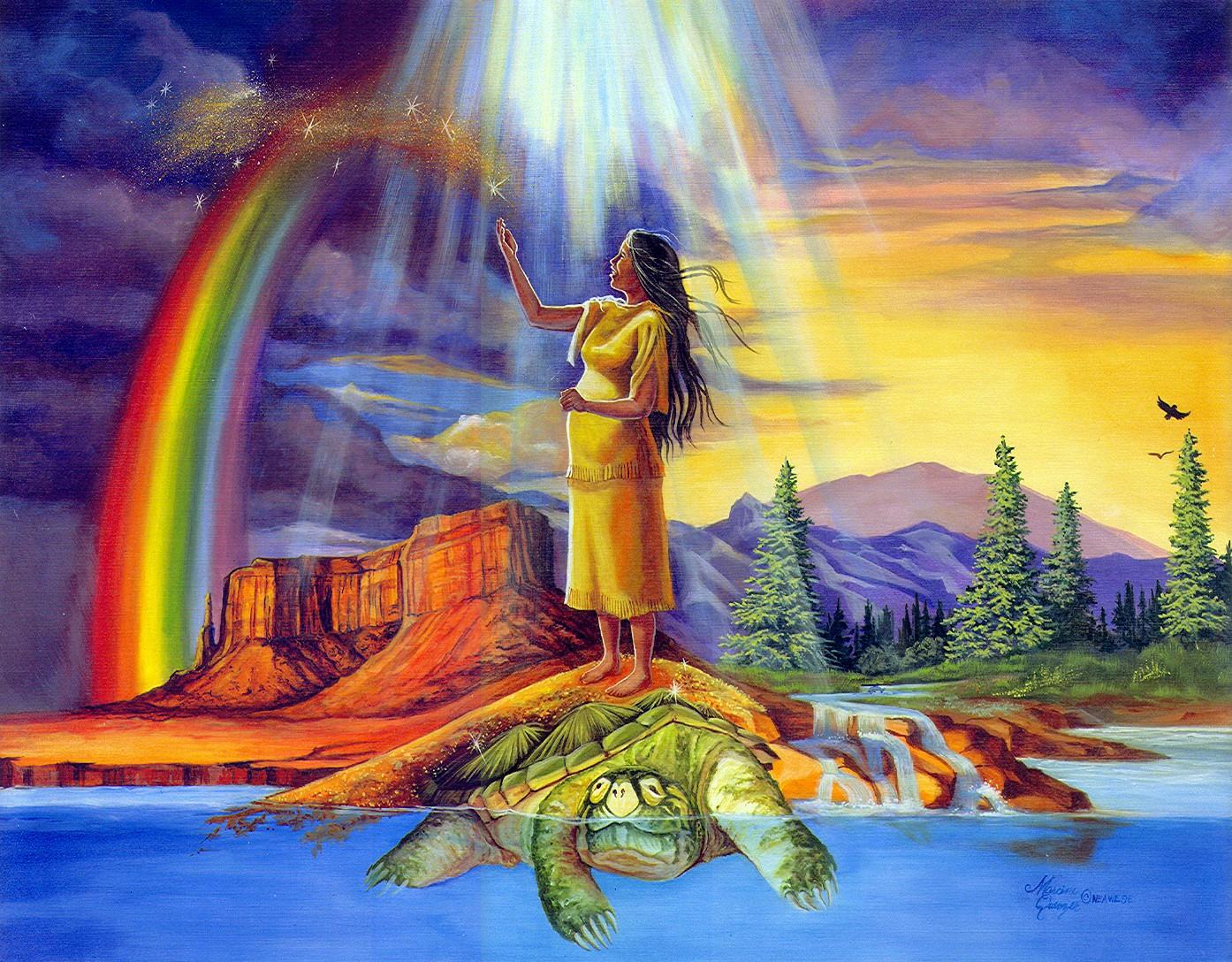 Cele mai inedite povesti despre crearea lumii