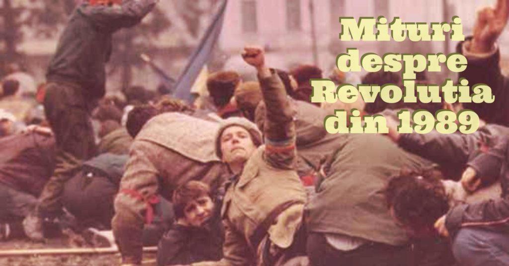 Mituri despre Revolutia din 1989