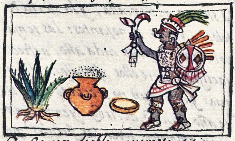 zeii alcoolului la azteci