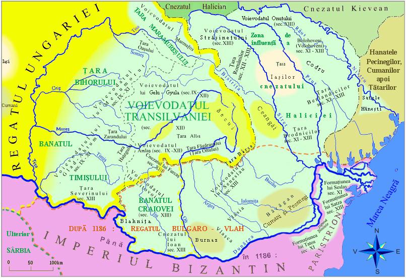 Formatiuni Politice Romanesti Secolele_IX_XIII