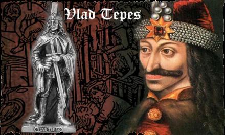 Mircea cel Batran, Alexandru cel Bun, Iancu de Hunedoara, Vlad Tepes si Stefan cel Mare