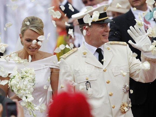 Printul Albert de Monaco si Printesa Charlene din Monaco
