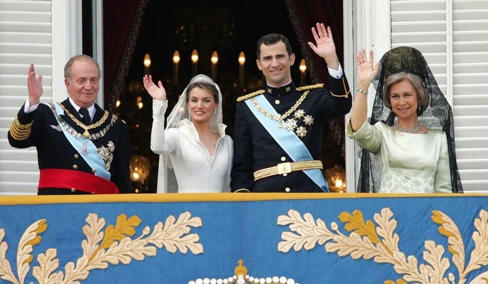 Regele Felipe VI si Regina Letizia a Spaniei