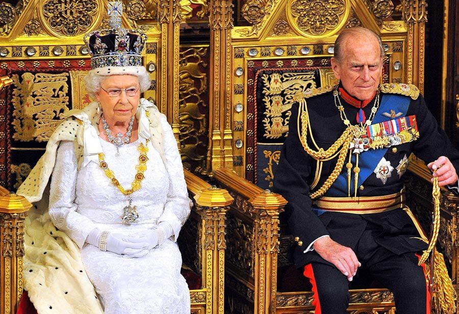 Regina Elisabeta II si Printul consort Philip, Duce de Edinburgh