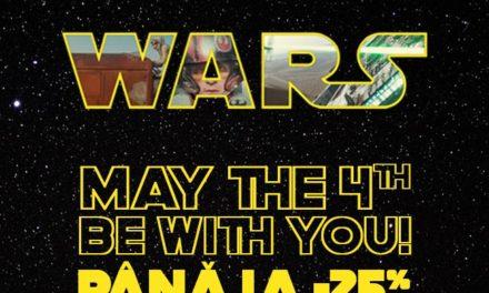 Colectia Star Wars implineste 41 de ani – reduceri si promo pe Carturesti