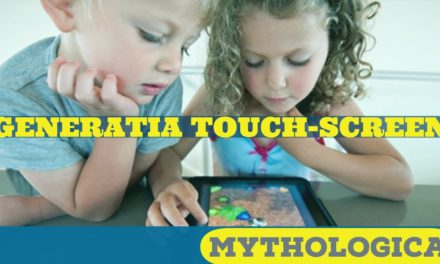 Generatia touch-screen: copil intr-o lume digitala