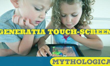 Generatia touch-screen: copil intr-o lume digitala