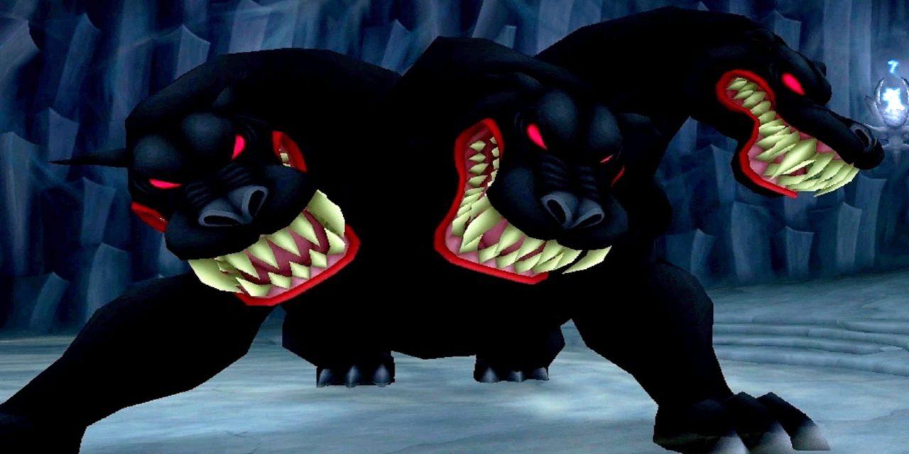 Cerberul, cainele cu trei capete ce pazeste iadul in mitologia greaca
