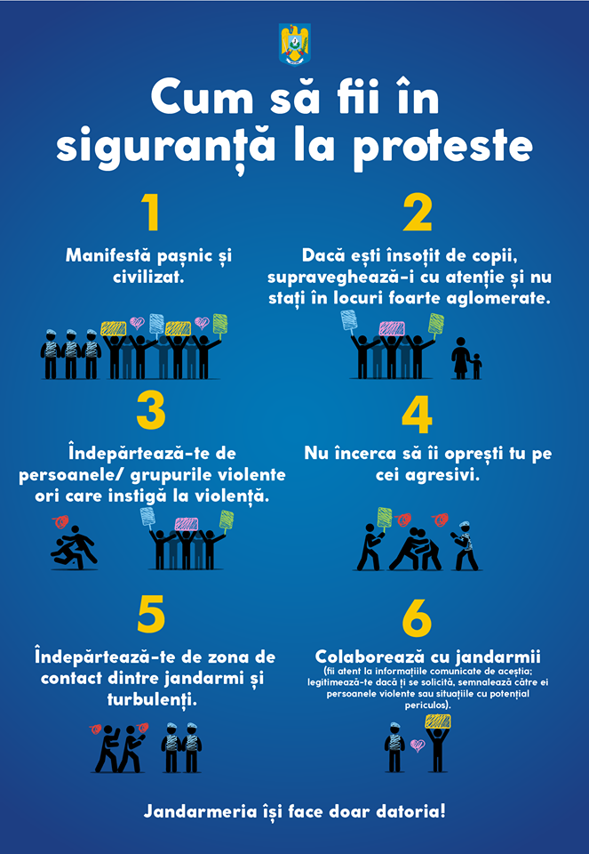 cum sa fii in siguranta la proteste
