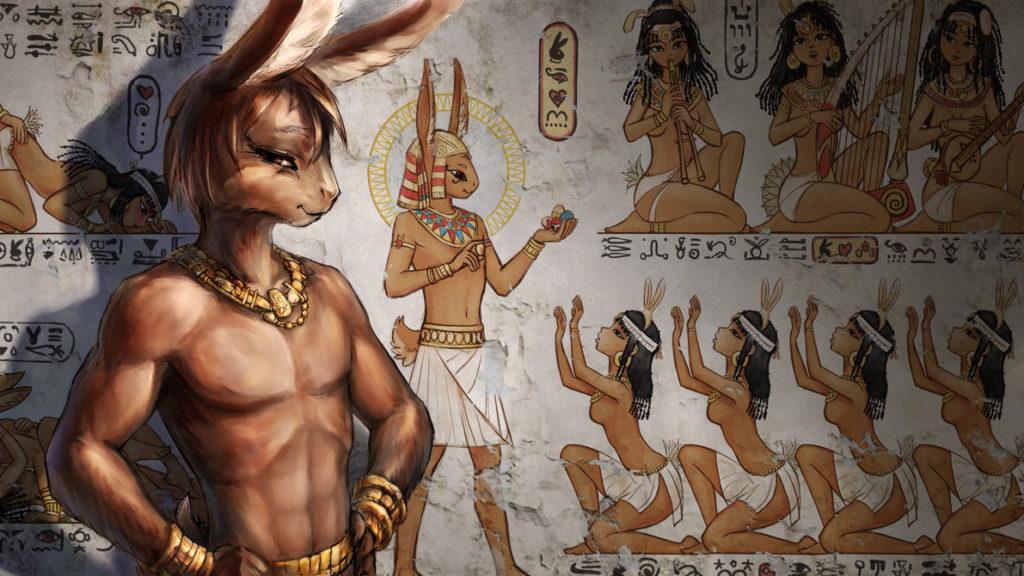 istoria iepurasului de pasti mitologie paste