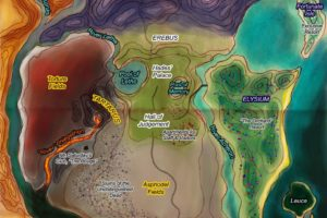 Raul Styx, Campiile Elizee si Tartarul: lumea de apoi si infernul in mitologia greaca