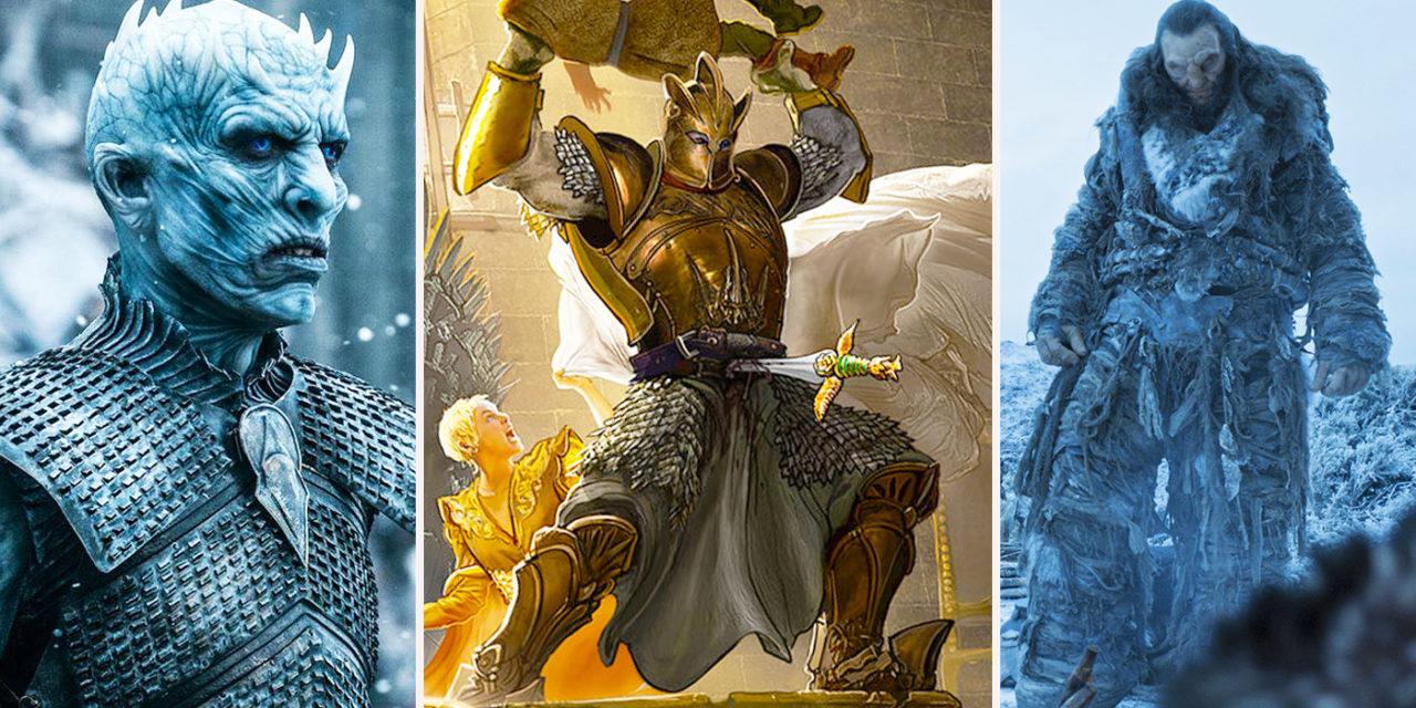 Top 10 monstri in Urzeala Tronurilor