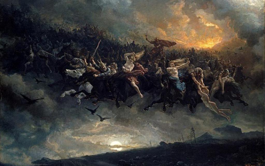 """Originea nordica a Craciunului: Odin, omul care a fost """"Miercuri"""""""