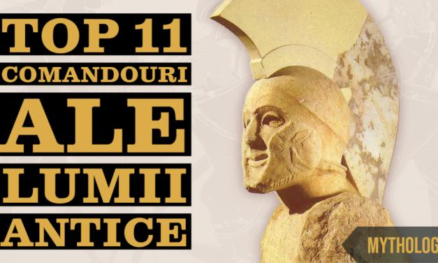 Top 11 comandouri speciale din lumea antica