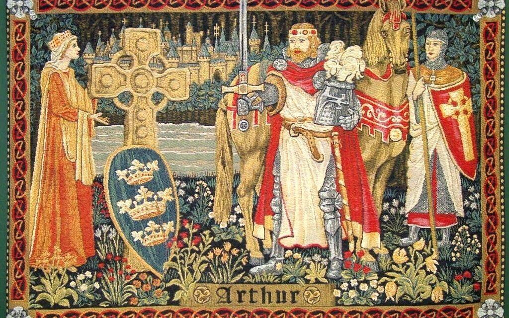 Descoperirea mormantului regelui Arthur din Camelot
